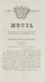 Motyl. Kwartał 4, nr 44 (30 października 1829)