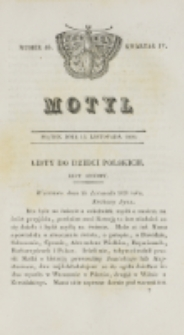 Motyl. Kwartał 4, nr 46 (13 listopada 1829)