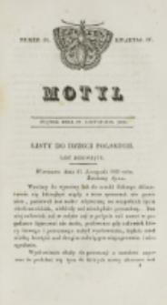 Motyl. Kwartał 4, nr 48 (27 listopada 1829)