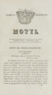 Motyl. Kwartał 4, nr 49 (4 grudnia 1829)