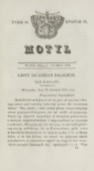 Motyl. Kwartał 4, nr 50 (11 grudnia 1829)