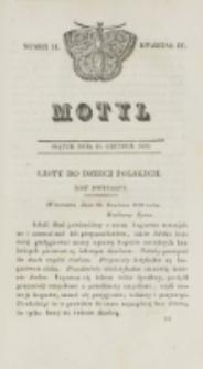 Motyl. Kwartał 4, nr 51 (18 grudnia 1829)