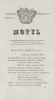 Motyl. Kwartał 4, nr 52 (25 grudnia 1829)