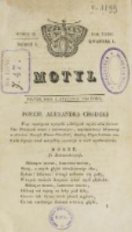 Motyl. R. 3, kwartał 1, nr 1=53 (1 stycznia 1830)