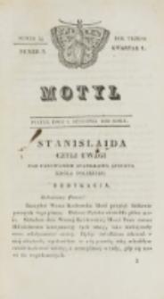 Motyl. R. 3, kwartał 1, nr 2=54 (8 stycznia 1830)