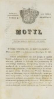 Motyl. R. 3, kwartał 1, nr 9=61 (26 lutego 1830)