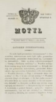 Motyl. R. 3, kwartał 1, nr 11=63 (12 marca 1830)