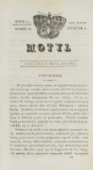 Motyl. R. 3, kwartał 1, nr 12=64 (19 marca 1830)