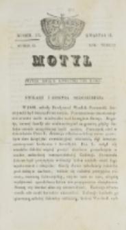 Motyl. R. 3, kwartał 2, nr 13=65 (9 kwietnia 1830)