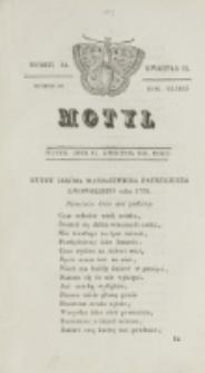 Motyl. R. 3, kwartał 2, nr 14=66 (16 kwietnia 1830)