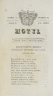 Motyl. R. 3, kwartał 2, nr 17 =69 (7 maja 1830)