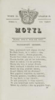 Motyl. R. 3, kwartał 2, nr 20=72 (28 maja 1830)