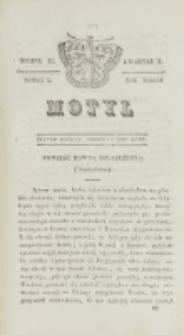 Motyl. R. 3, kwartał 2, nr 22=74 (11 czerwca 1830)