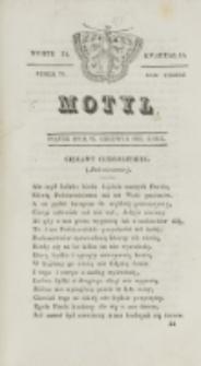 Motyl. R. 3, kwartał 2, nr 24=76 (25 czerwca 1830)