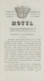 Motyl. R. 3, kwartał 3, nr 26=78 (9 lipca 1830)
