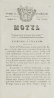 Motyl. R. 3, kwartał 3, nr 27=79 (16 lipca 1830)
