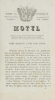 Motyl. R. 3, kwartał 3, nr 28=80 (23 lipca 1830)