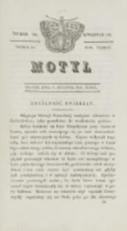 Motyl. R. 3, kwartał 3, nr 30=82 (6 sierpnia 1830)1830
