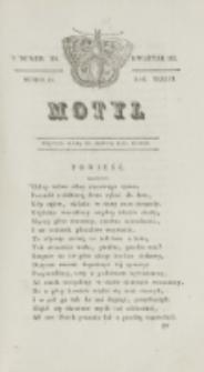 Motyl. R. 3, kwartał 3, nr 29=81 (30 lipca 1830)