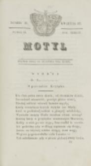 Motyl. R. 3, kwartał 3, nr 31=83 (13 sierpnia 1830)