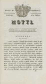 Motyl. R. 3, kwartał 3, nr 32=84 (20 sierpnia 1830)