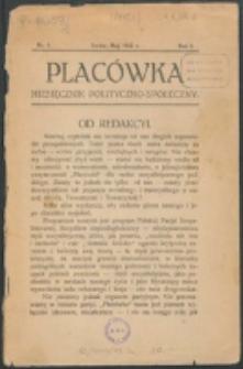 Placówka. R. 1, nr 1 (1912)
