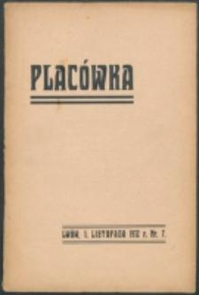 Placówka. R. 1, nr 7 (1912)
