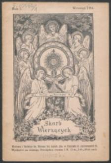Skarb Wierzących. R. 1, nr 9 (1914)