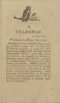 Telegraf. 1821, 8 (25 lutego)