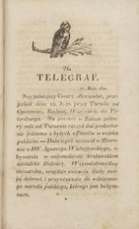 Telegraf. 1821, 21 (27 maja)