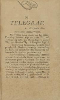 Telegraf. 1821, 32 (12 sierpnia)