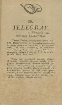 Telegraf. 1821, 36 (9 września)