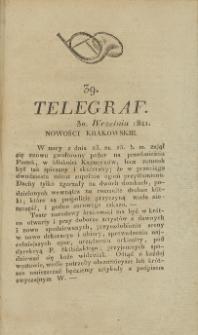 Telegraf. 1821, 39 (30 września)