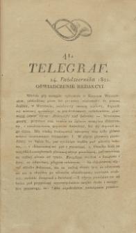 Telegraf. 1821, 41 (14 października)