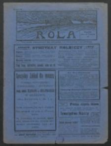 Rola. R. 7, nr 13 (1913)