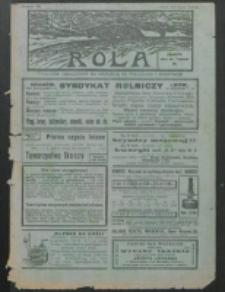Rola. R. 7, nr 28 (1913)