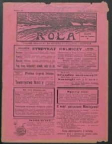 Rola. R. 7, nr 34 (1913)