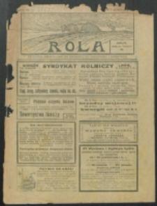 Rola. R. 7, nr 40 (1913)