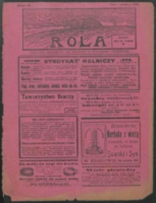 Rola. R. 7, nr 49 (1913)