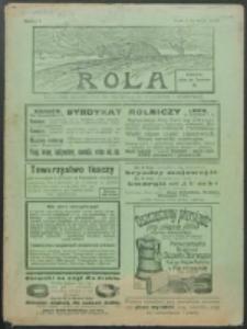 Rola. R. 8, nr 1 (1914)