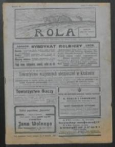 Rola. R. 8, nr 18 (1914)