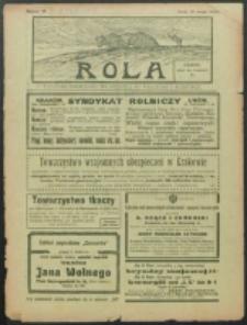 Rola. R. 8, nr 19 (1914)