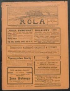 Rola. R. 8, nr 21 (1914)