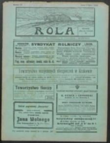 Rola. R. 8, nr 27 (1914)