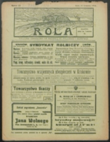 Rola. R. 8, nr 33 (1914)