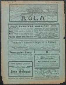 Rola. R. 8, nr 36 (1914)