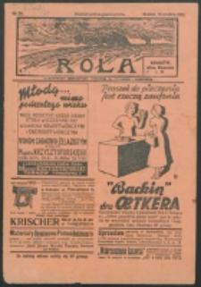 Rola. R. 21, nr 51 (1938)