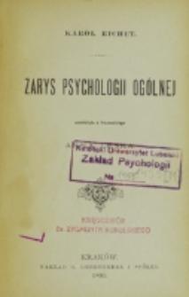 Zarys psychologii ogólnej / Karol Richet ; przeł. z fr. Anna Leska
