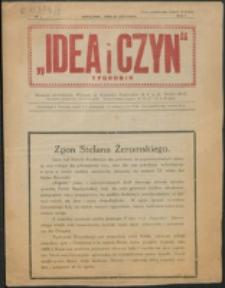 Idea i Czyn. R. 1, nr 2 (1925)
