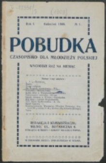 Pobudka. R. 1, nr 1 (1908)